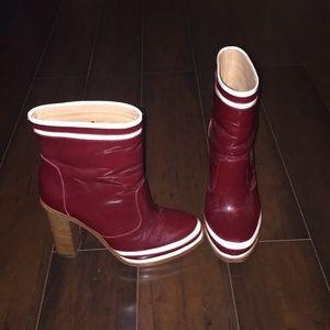 Diane Von Furstenberg boots, size 7